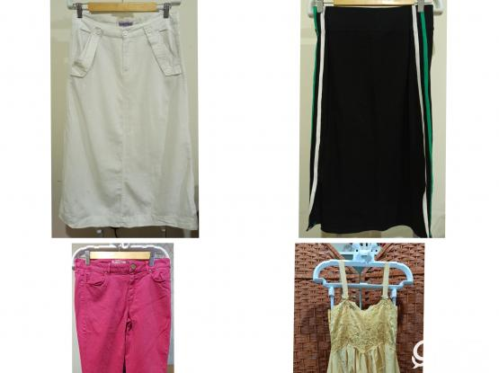 Assorted Girls / Womens Clothes Bundle - Pants/Skirts
