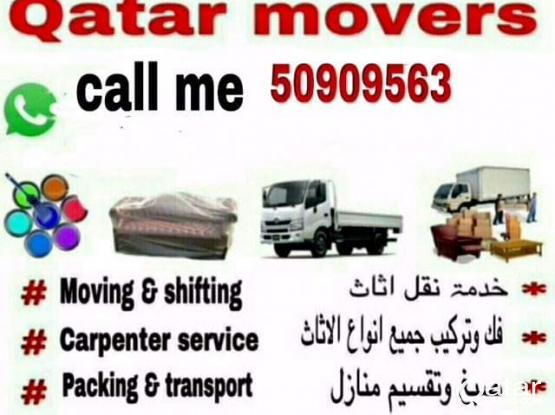 We do all type of shifting and moving. Please call 50909563