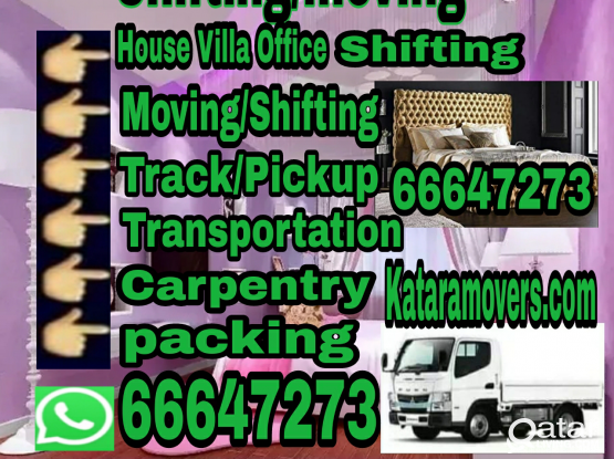 We do all shifting. Please call 66647273