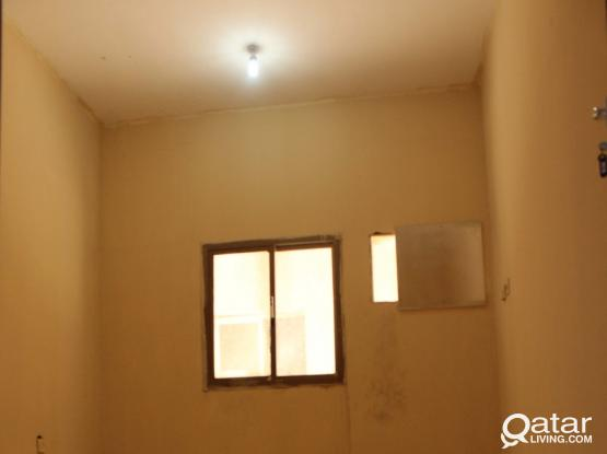 Accommodation/Camp for Rent: 1,350/= QR Monthly per room, including water, Electricity & Sewage
