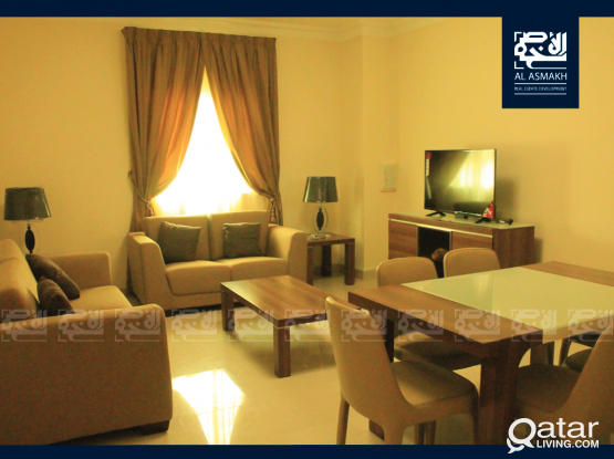 Furnished 1-Bedroom Apt in Umm Ghuwailina