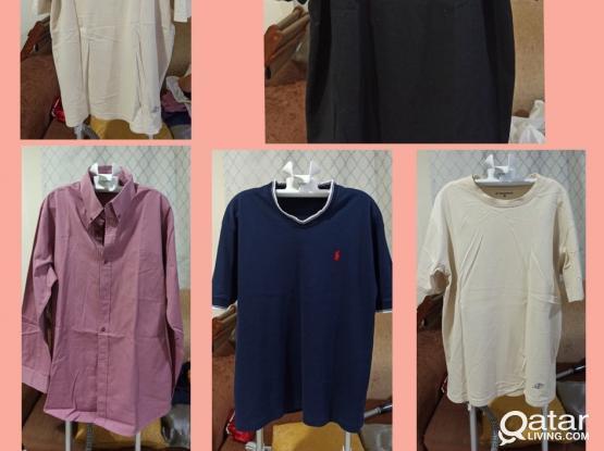 Men's Clothes Bundle (10 QAR each - Minimum of 5 pcs.)