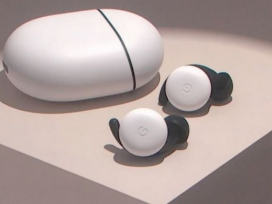 Google Pixel Buds 2020 White almost New