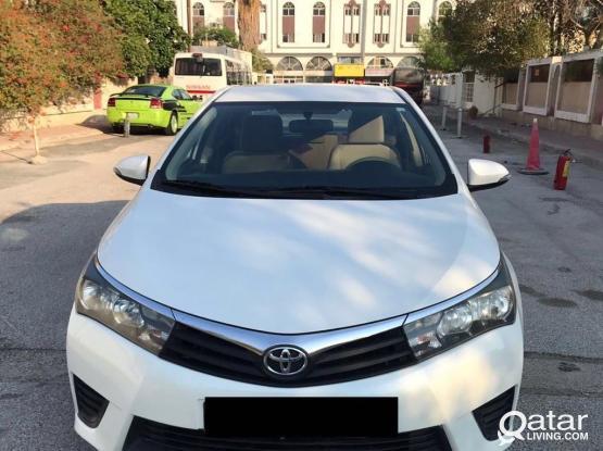 Toyota Corolla GLI 2014