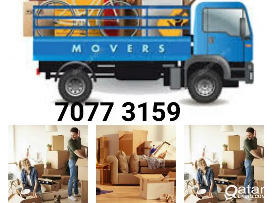 Moving shifting carpenter house Villa office delivery service please call us on 70773159