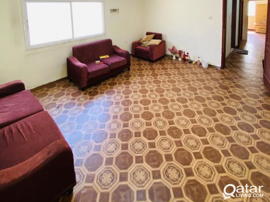 SPACIOUS 1BHK FOR RENT IN NUAIJA, HILAL