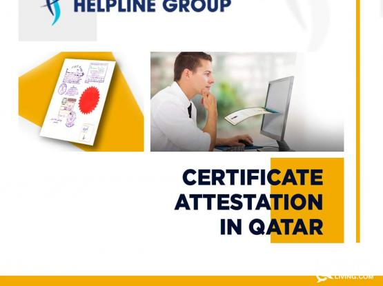 CERTIFICATE ATTESTATION SERVICES IN QATAR