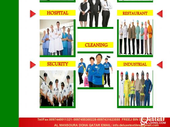 DELUXE TEXTILES & TAILORING W.L.L   Uniforms Fabric and Tailoring Solutions