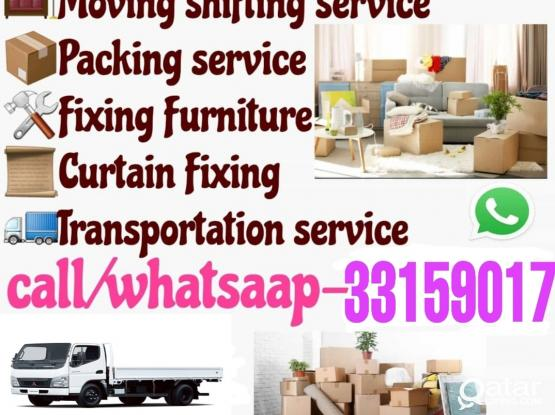 Doha moving shifting & packing service call 33159017