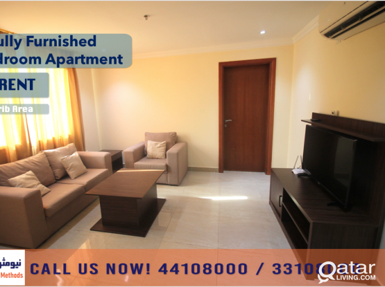 FULLY FURNISHED 1 BEDROOM APARTMENT AT MUSHERIB AREA