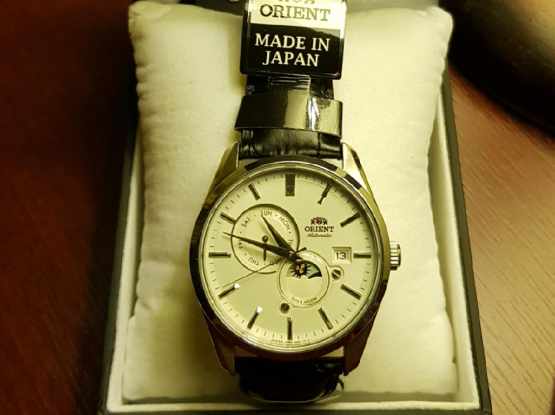 ORIENT original automatic watch.