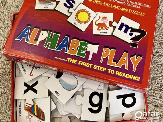Alphabet Puzzle (The First Step To Reading) Age 3 +
