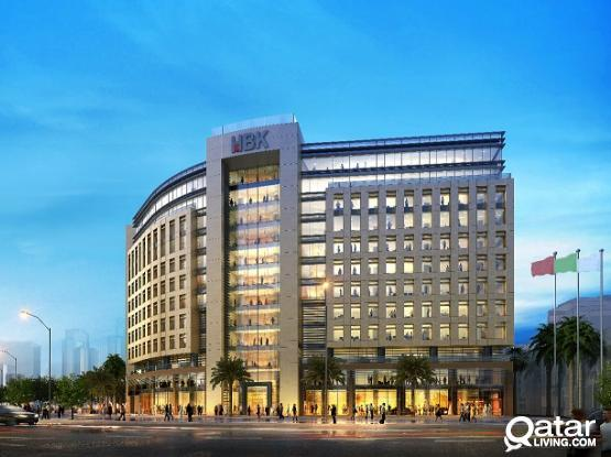 No Commission!!! Luxurious Brand new 80 Sqm to 368 Sqm Office Space available in Doha