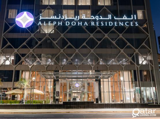 Aleph Doha Residences, Curio Collection by Hilton Brand new 3 Bd Apt FF all bills included