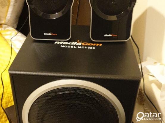 Mediacom speaker set