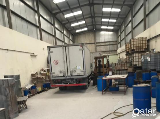 warehouse 400 sq.m industrial area