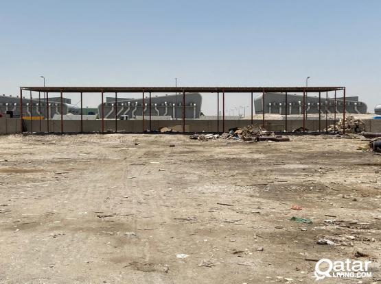 11000 SQUARE METER  LAND  FOR RENT IN INDUSTRIAL AREA