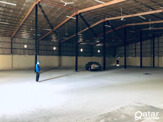 1400 SQM STORE FOR RENT IN INDUSTRIAL AREA