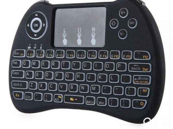 H9 Backlit Mini Wireless Keyboard With Touchpad
