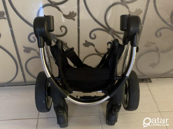 icandy peach single & double pushchair