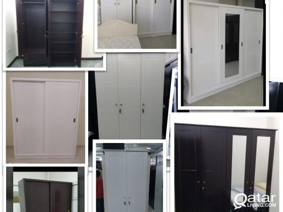 WARDROBES FOR SALE DELIVERY AVAILABLE- PH - +97477850533
