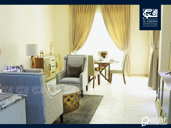 Fully Furnished 1-BDR Apt in Fox Hills, Lusail