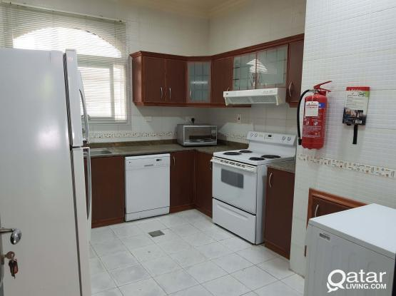 luxury furnished villa in Ain Khaled  salwa b for rent