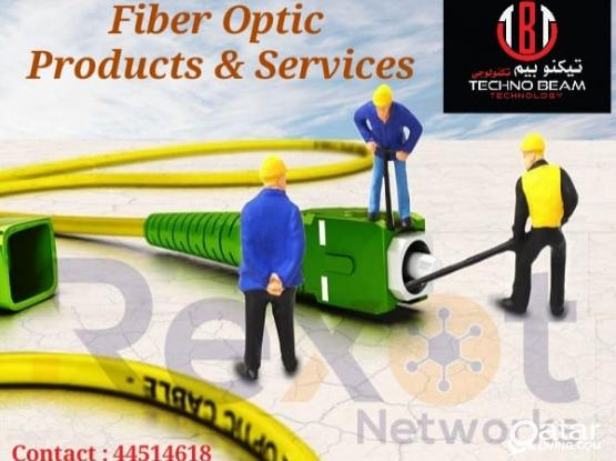 Fiber Optic Products Supply and Installation - Fiber Splicing and OTDR Testing