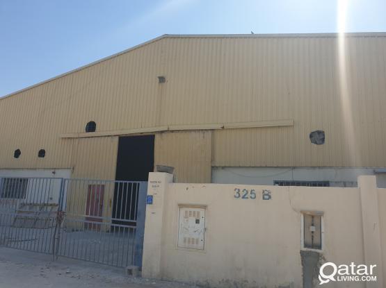Steel and aluminium workshop industrial area