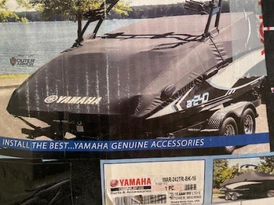 Yamaha Jet Boat Deluxe Premium Tower Mooring Cover Black