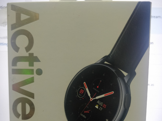 Samsung Galaxy watch active 2- 44mm with the box a