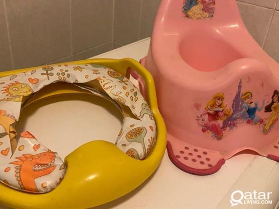 Potty And Baby Toilet Seat