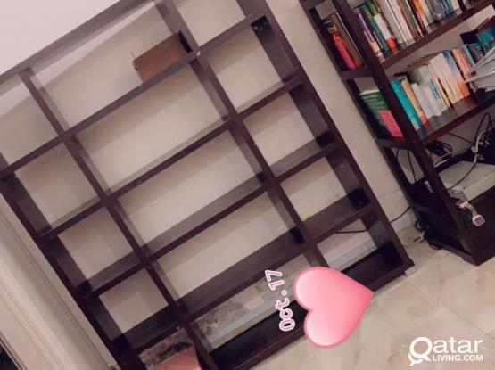 Great book shelf  item for sale ( two pieces)
