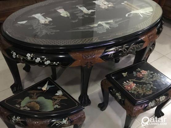 Tables Set And Partition Chinese Original
