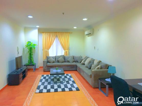 **NO Commission** 2-BHK WITH BALCONY, GYM FREE WiFI @ OLD SALATHA close to CORNICE