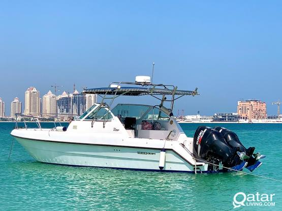 Silvercraft Boat