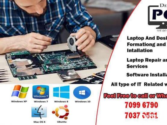 Laptop And PC Format And Windows Instalation