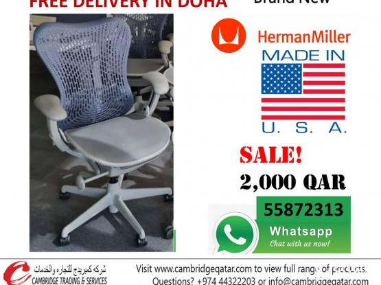 Herman Miller Chair Made in USA - Showroom Display pcs Brand New