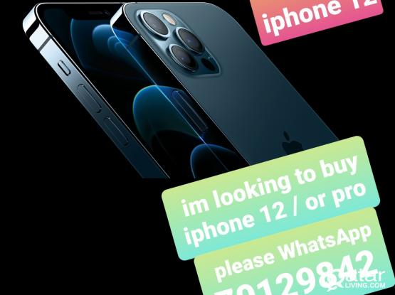 I'm looking to buy  iphone  (required)