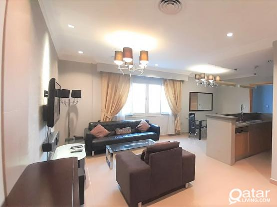 Elegant FF 1BHK Apt+Bills & All Facilities in Al Sadd