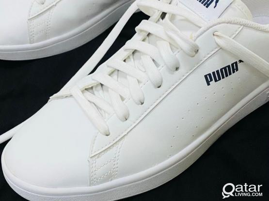 Puma White Shoe Size 42.5