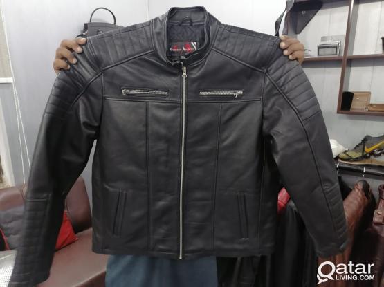 Genuine Leather Jacket big sizes