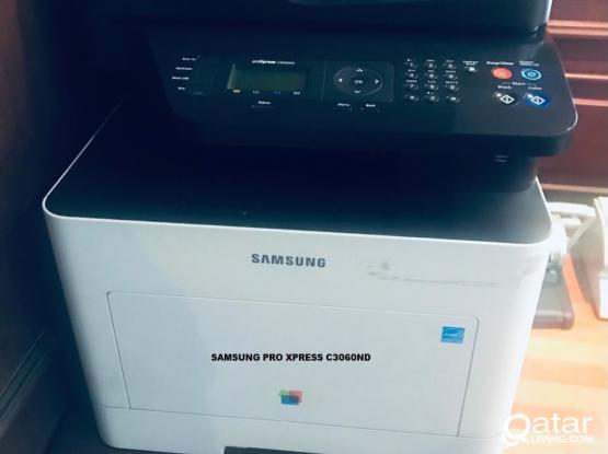 Samsung ProXpress C3060ND Color Multifunction Printer White
