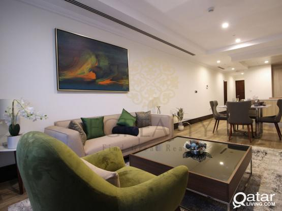 Stylish 1BR Apartment in Viva Bahriya FOR RENT | The Pearl - Qatar