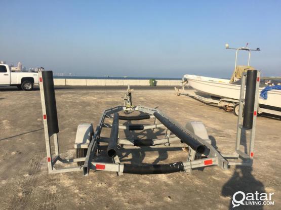 trailer boat for rent / تيدر للإيجار