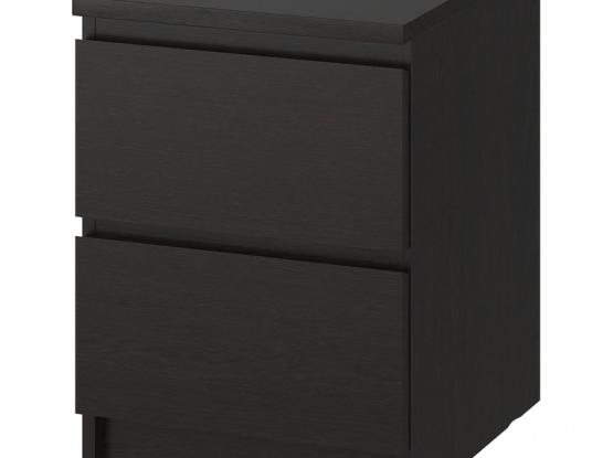 2 Ikea side drawers