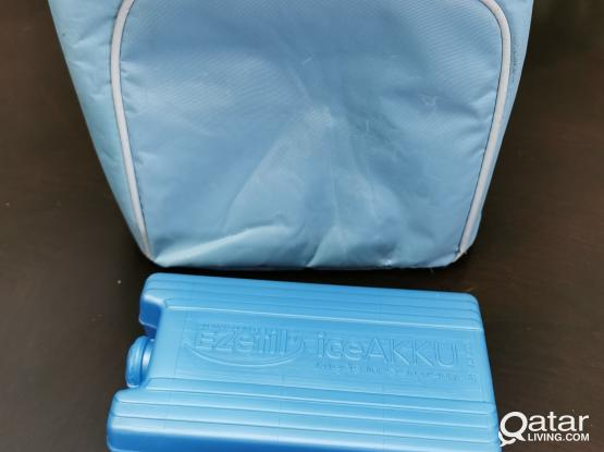 Cooling Bag Light Blue Colour