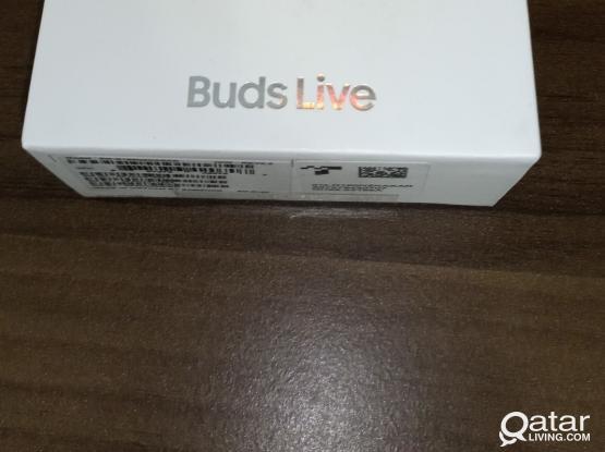 Samsung Galaxy Buds Live Brand New - Mystic Black