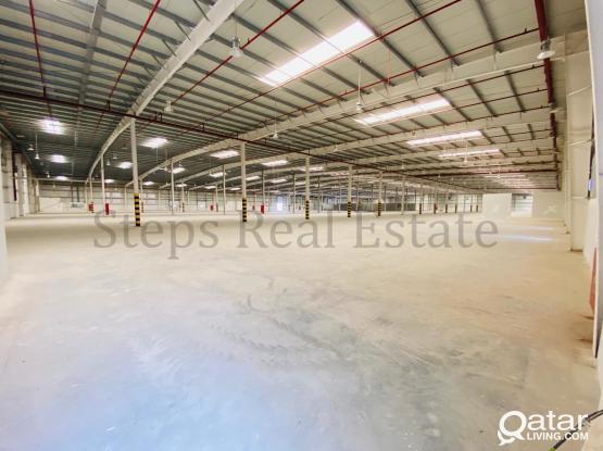 Brand New 1400sqm Warehouse at Um-salal Ali