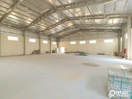 500 Sqm warehouse with 60 rooms for Rent